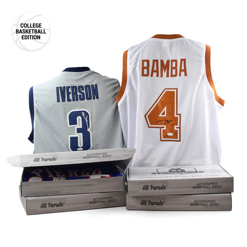 d71c3d8aebb Every box includes an authenticated autographed college basketball jersey ( Authentic