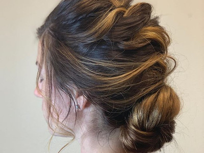 Texture and braids bridal