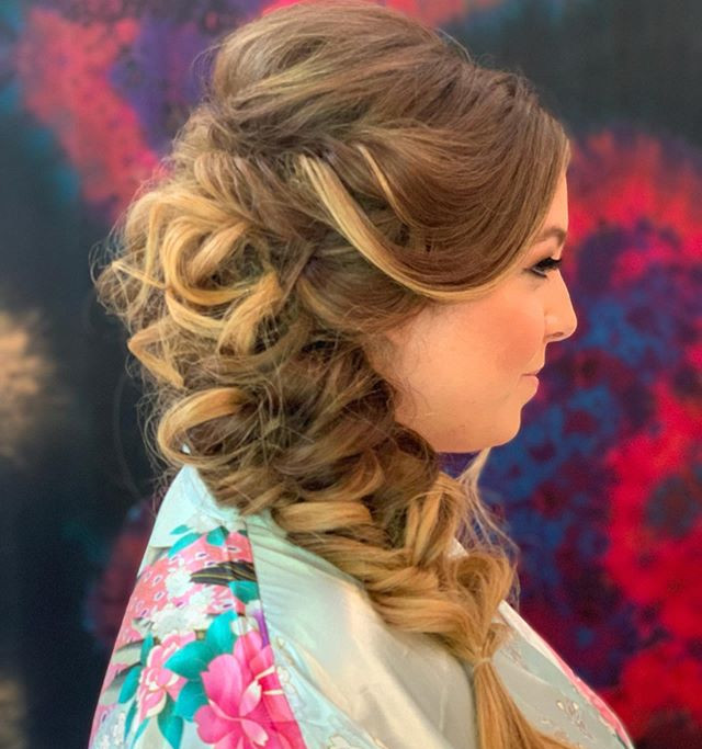 Side braid -Mermaid Hair 🧜🏼‍♀️ The mor