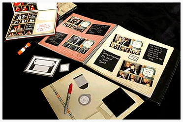 illuminate san diego photo booth Guest Book Station (Where Guest Can Write Messages and Greetings) - Scrapbook/Memory Book (A Copy of All Guest Photos And Personal Messages). Customized  by the people who matter the most. The ones you love will create
