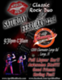 Jimmy's Sports Lounge, Largo, FL, 2.22.20, Live Music, Nightlife, Things to do, Classic Rock, April Red