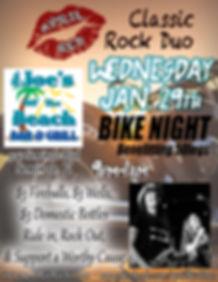 Mr. Joes Off The Beach Bike Night, 1.29.