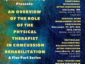 Don't Miss This Concussion Webinar Series!