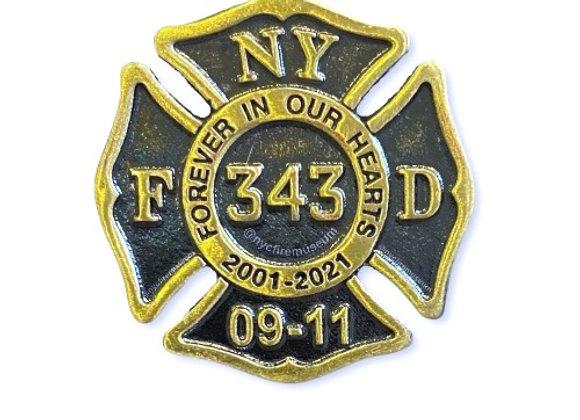 9/11 20th Anniversary  Pin