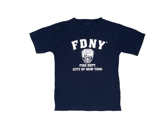 FDNY T-Shirt All White Print