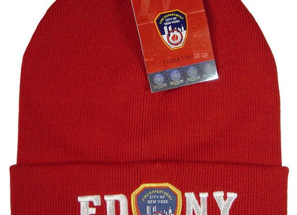 FDNY Beanie- Knit Hat