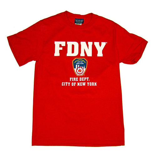 FDNY T-Shirt - Color Logo