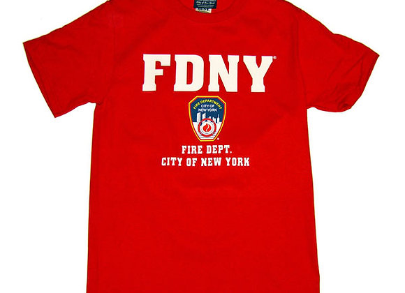 FDNY T-Shirt - Color Logo