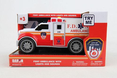 """FDNY Ambulance 7"""""""