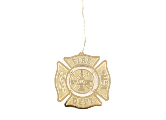 Fire Dept Ornament