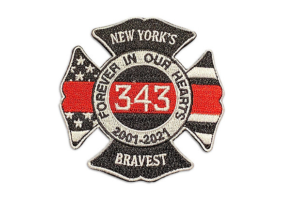 9/11 20th Anniversary Patch