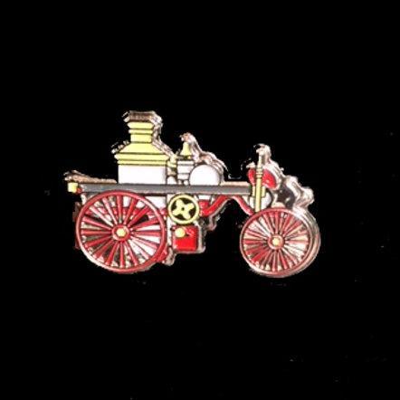 Fire Museum Steam Pumper Pin
