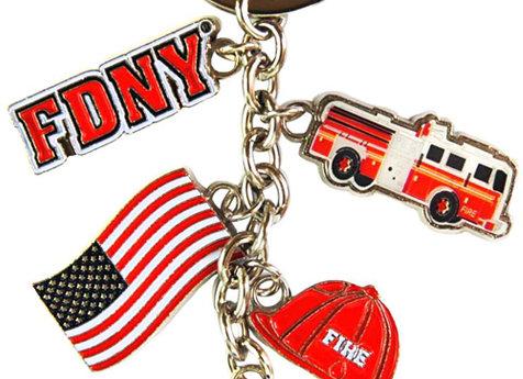 FDNY Logo Keychain