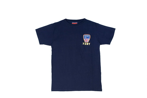 FDNY Embroidered Logo T-Shirt