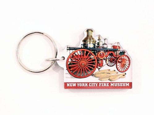 Steam Pumper Keychain