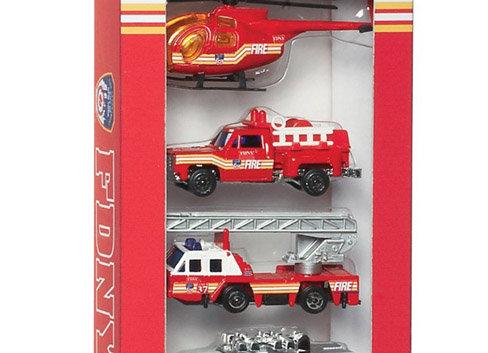 FDNY 5 Piece Vehicle Set