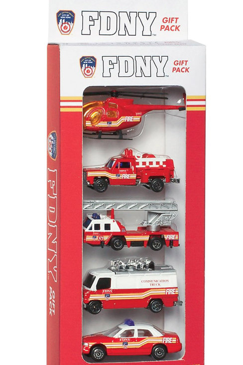 FDNY 5 Piece Vehicle Set