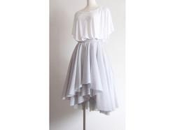 gray lantern skirt
