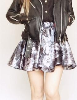 jellyflower skirt