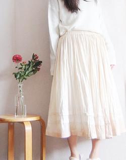 morning tea skirt