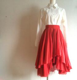 dry flower skirt