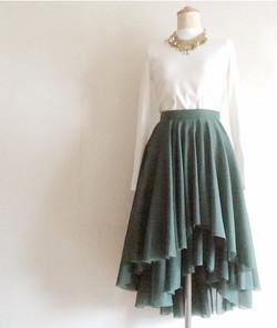 dry leaf skirt