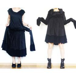 2way raven dress