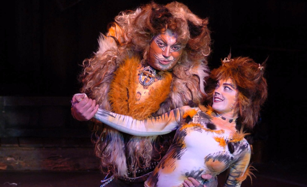 Becca Battoe in CATS