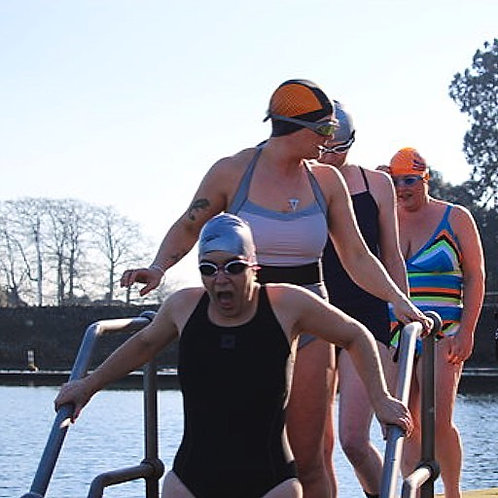 Winter swimming webcast