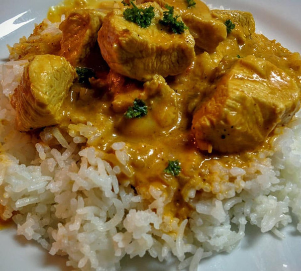 Curry night special