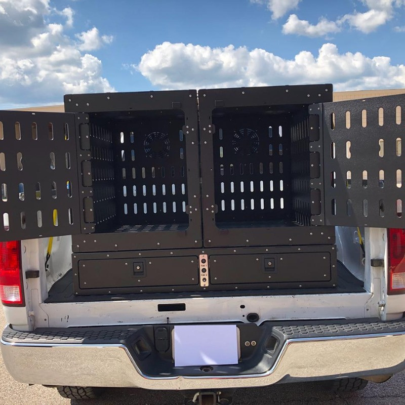 Custom Truck Bed Kennels