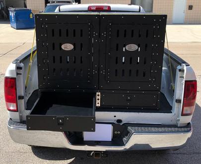 Custom Truck Bed Kennels