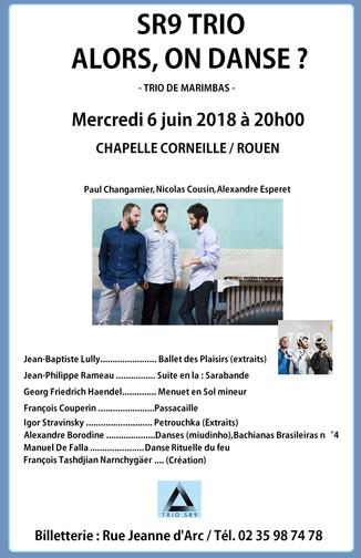 TRIO SR9 / 6 juin 2018 / 20h00 / Rouen