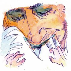 A virtuous head / Ein tugendhafter Kopf