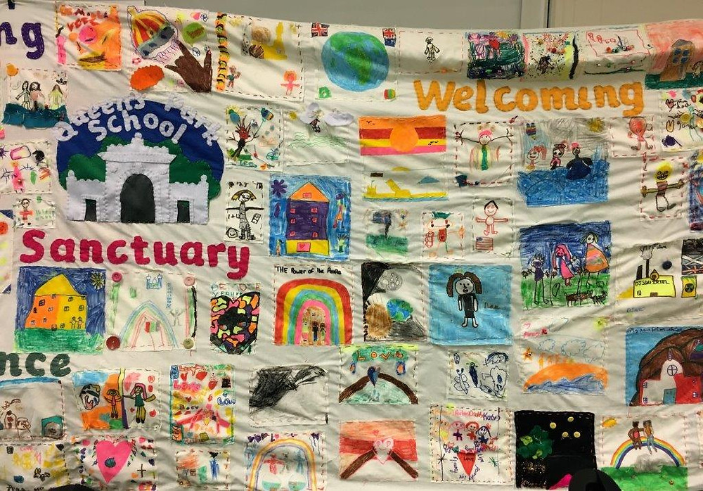 Queens Park tapestry