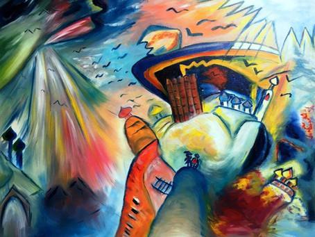Even Kandinsky Got Climate Change
