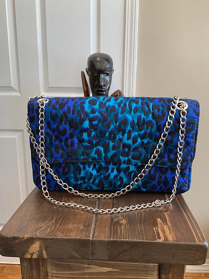 TAMI BAG (Animal Blue)