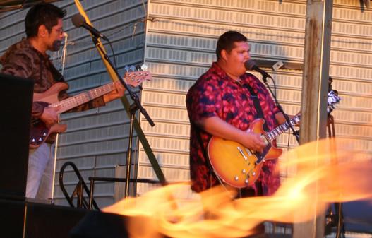 Luke Repass in Flames