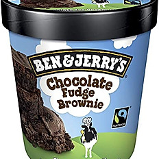 Helado Ben & Jerry's Chocolate Brownie