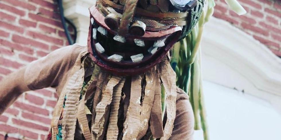 Confección Máscaras - Títeres en Plástico