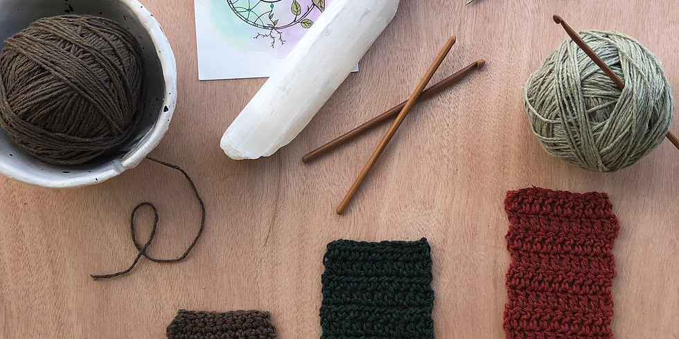 Taller básico de tejido de crochet