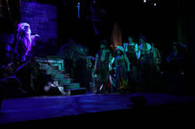 The Greatest Pirate Story Never Told by Never Told Productions  Puppet design and performance Off Broadway and touring productions 2014-2015
