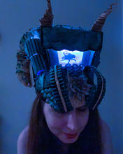 A Fly in the Mind (Shadow Hat)   Made of recyclable materials