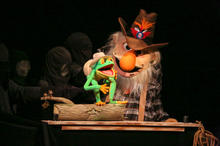 The Howdy-Do Show by Jim Kroupa  Performed at The Eugene O'Neill Puppetry Conference 2015  Photo by Richard Termine