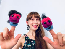 Bi Puppet Pals  for Bi+ Visibility Day