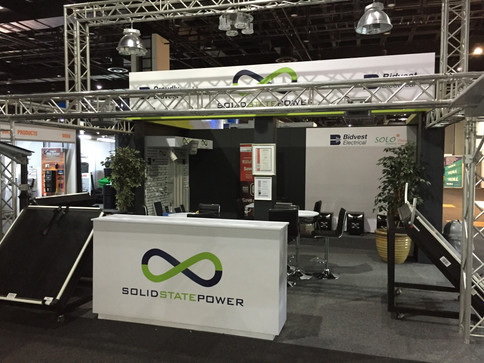 Solid State Power Exhibition Stand