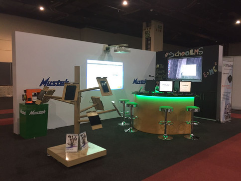 Mustek Educational Exhibition Stand