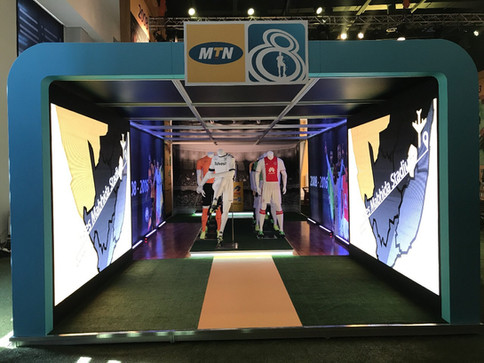 MTN 8 wafa wafa Event @ The Galleria