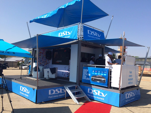 TUNGSTEN PARTNERS WITH BRANDSYNC IN FABRICATING A BESPOKE GIG RIG FOR DSTV