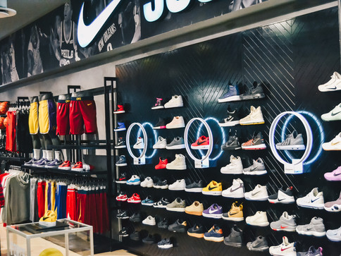 "X Trainer ""Editions"" store – Sandton city"